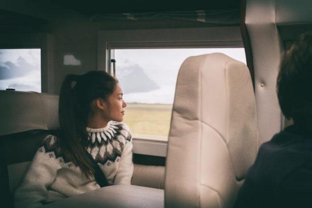 Campervans seat belts