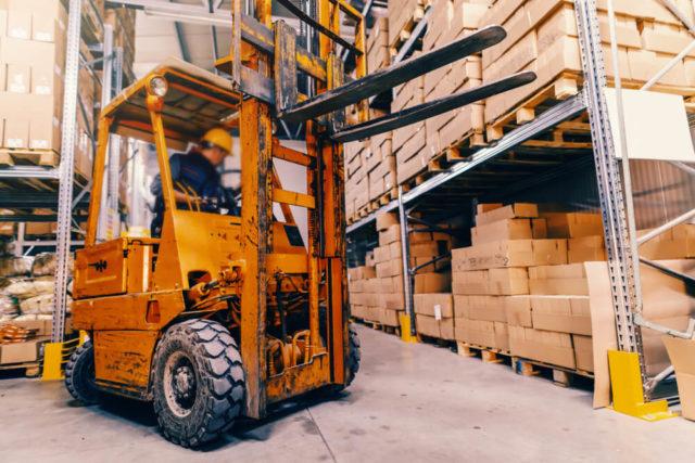 Forklifts Seat Belts