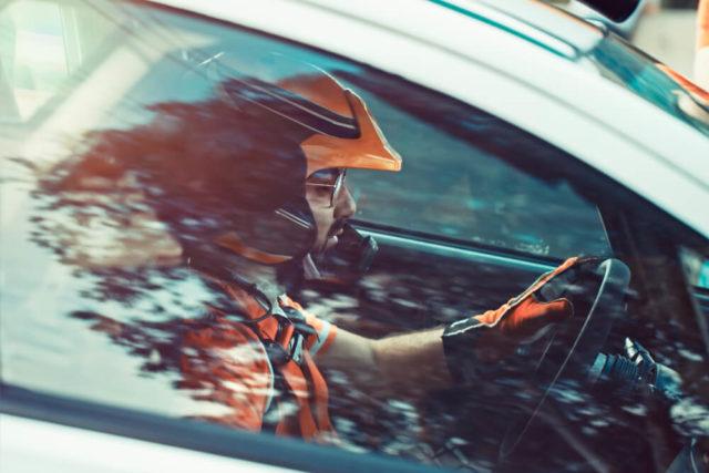 Racing car seat belt